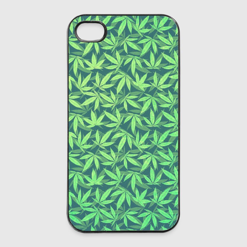 Cannabis / Weed / Marijuana - Pattern (Phone Case) Phone & Tablet Cases - iPhone 4/4s Hard Case