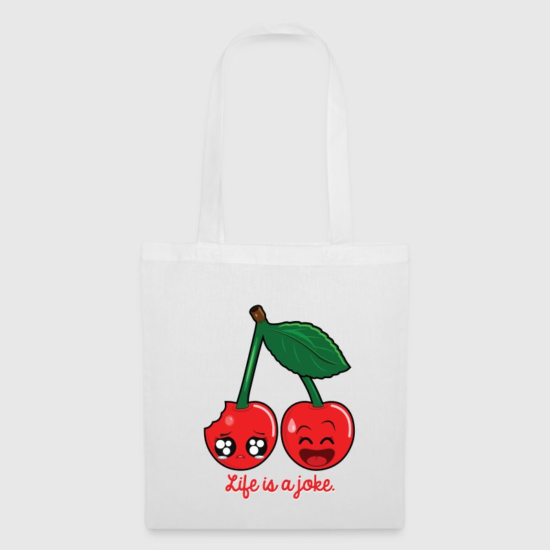 Life is a joke Sacs et sacs à dos - Tote Bag