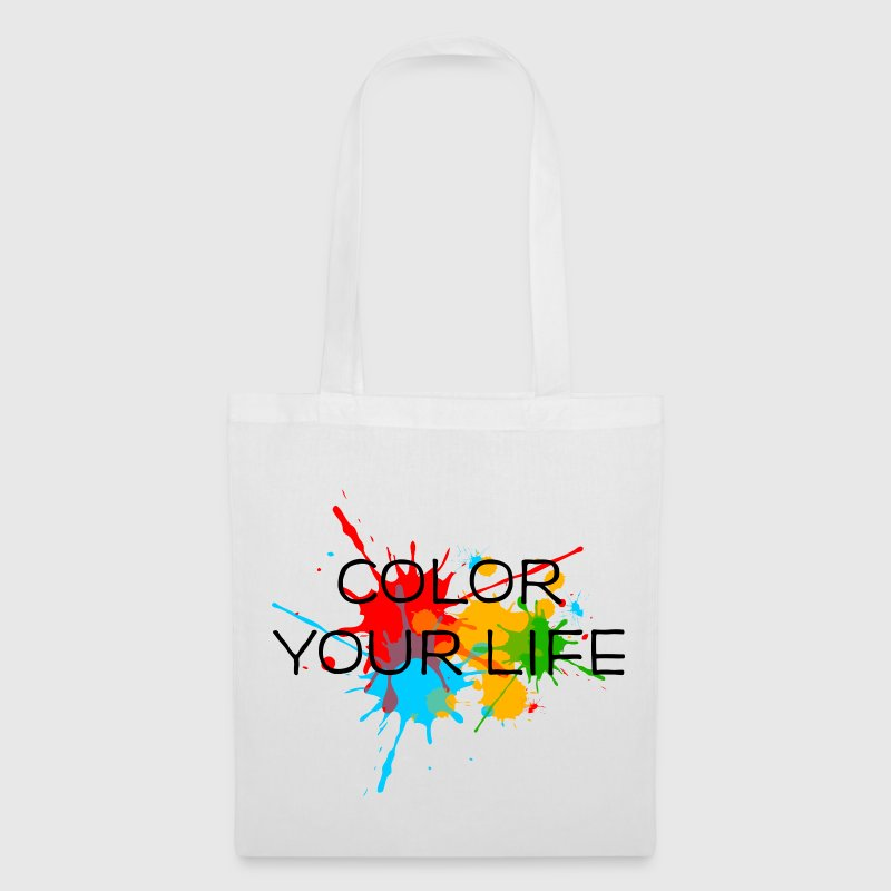 Ink, Paint, Color your life, Splashes, Splatter, Bags & Backpacks - Tote Bag