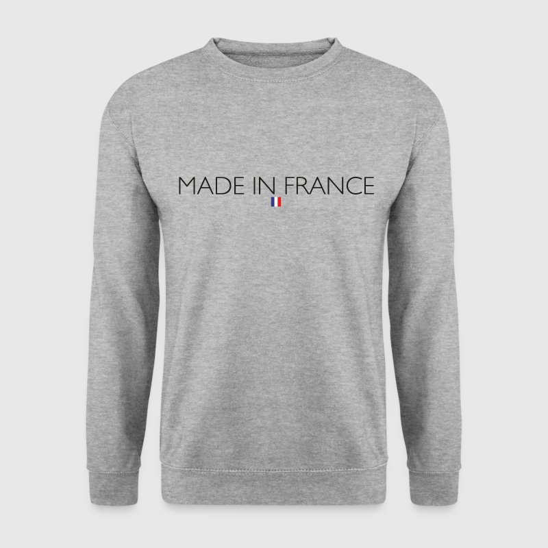 SWEAT HOMME MADE IN FRANCE  - Sweat-shirt Homme