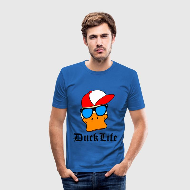 Duck Life T-Shirts - Männer Slim Fit T-Shirt