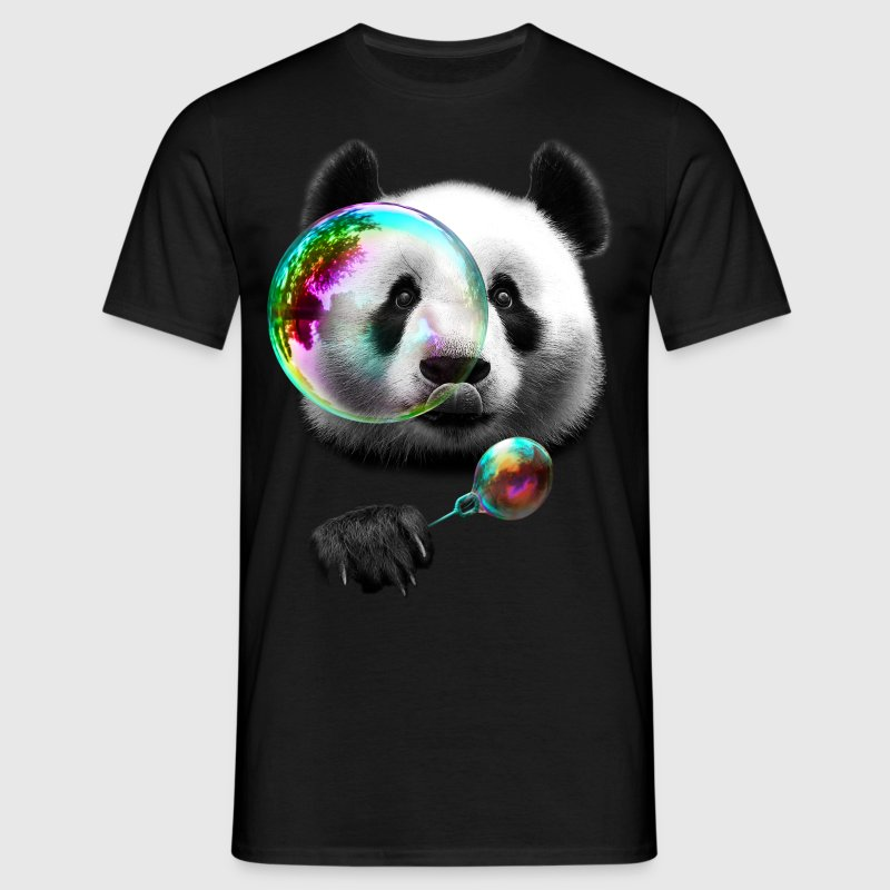 PANDA BUBBLEMAKER - Men's T-Shirt
