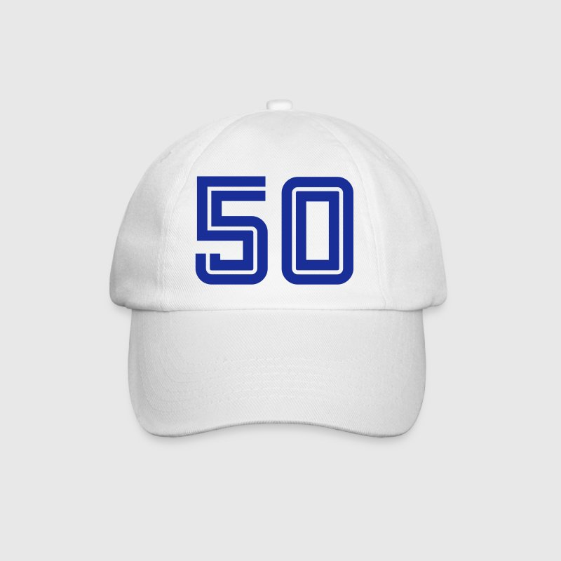 College Numbers, Nummern, Sports Numbers, 50 Caps & Hats - Baseball Cap