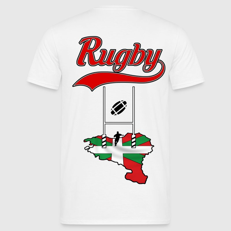 rugby basque Tee shirts - T-shirt Homme