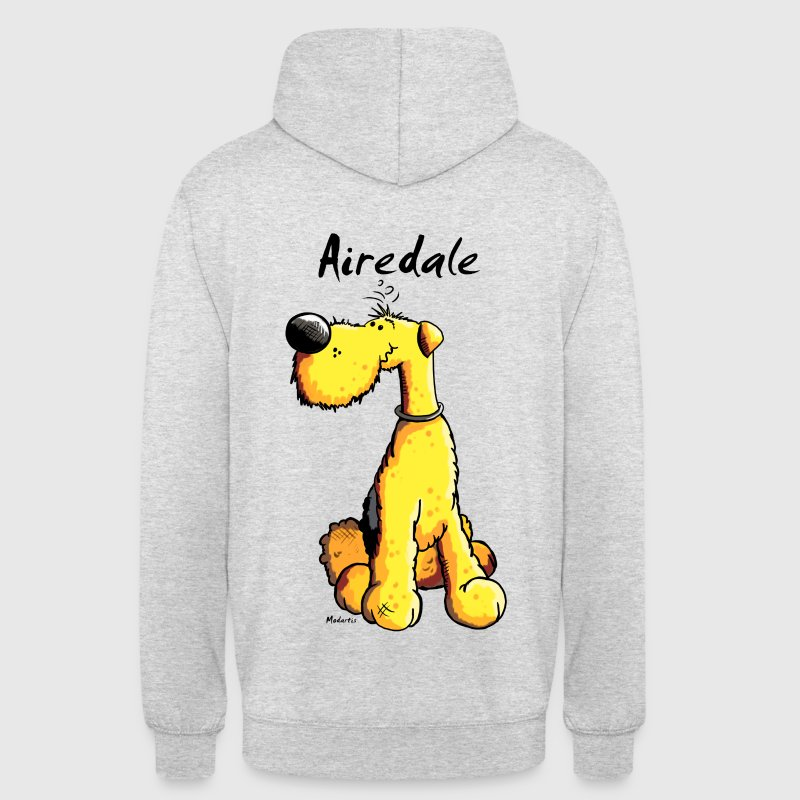 Mignon Airedale Terrier Sweat-shirts - Sweat-shirt à capuche unisexe