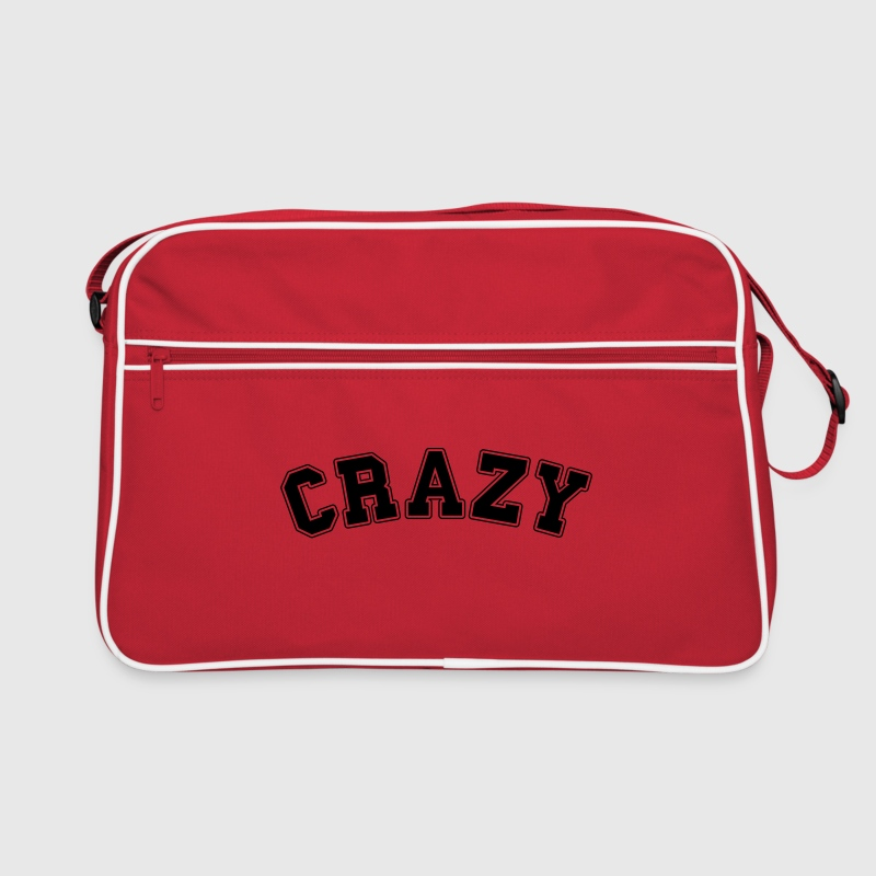 crazy college  Bags & Backpacks - Retro Bag