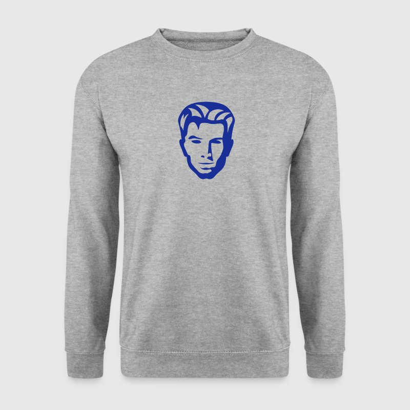 tete personnage dessin 2302 Sweat-shirts - Sweat-shirt Homme