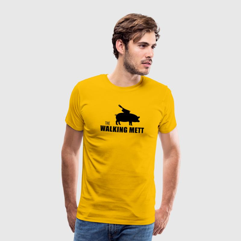 the walking mett - Männer Premium T-Shirt