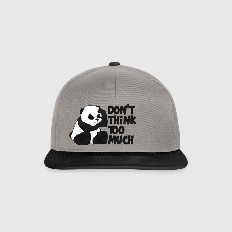 DON'T THINK TOO MUCH Caps & Mützen - Snapback Cap