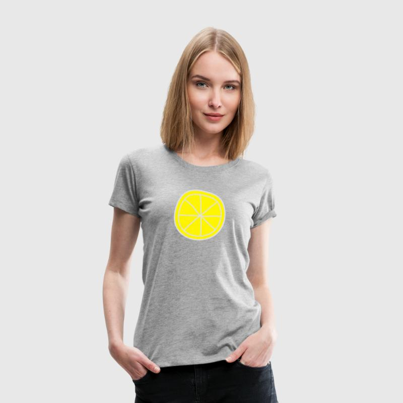 Lemon T-Shirts - Frauen Premium T-Shirt