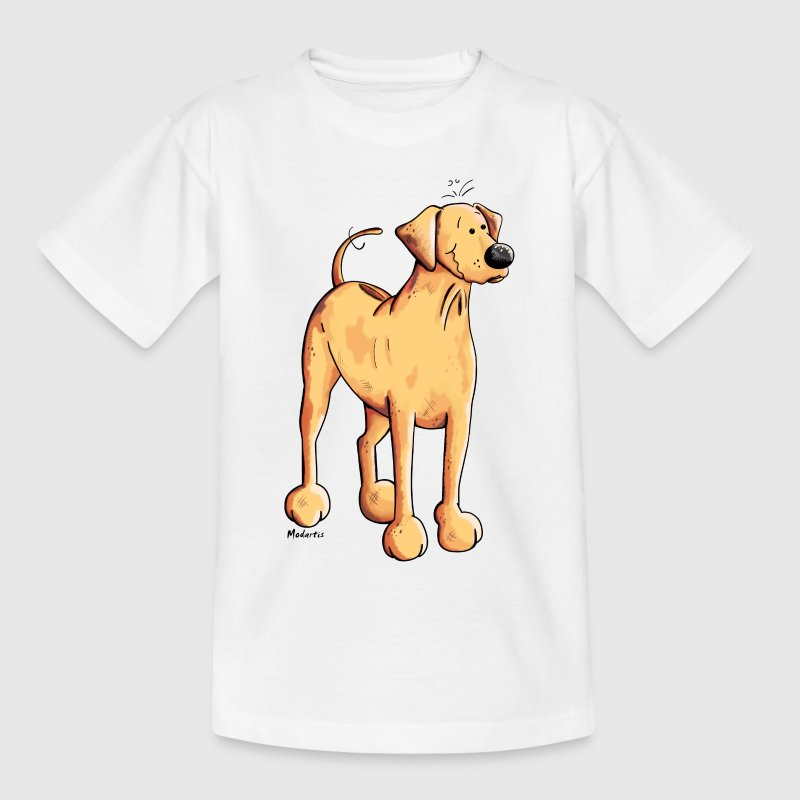 Happy Rhodesian Ridgeback T-Shirts - Teenager T-Shirt