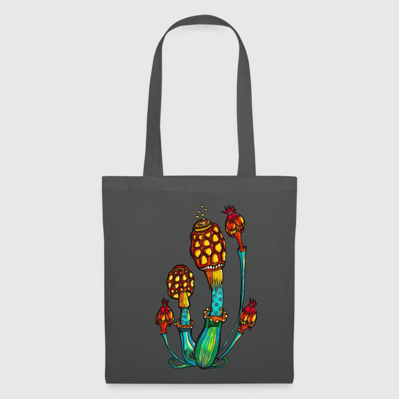 Magic Mushrooms, Psychedelic, Goa, Trance, Rave Bags & Backpacks - Tote Bag