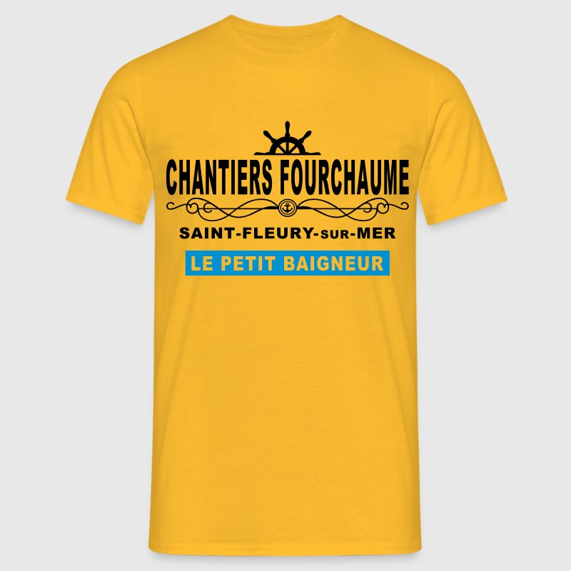 chantiers fourchaume Tee shirts - T-shirt Homme