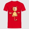 Yoga Cat T-Shirts - Men's T-Shirt