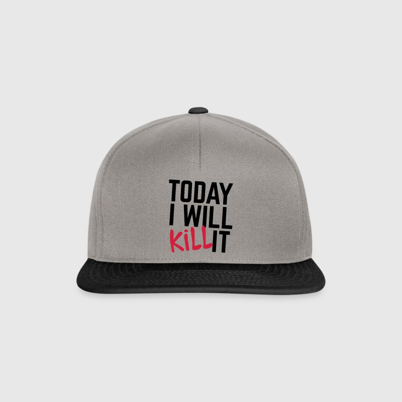 Today I Will Kill It Gorras y gorros - Gorra Snapback