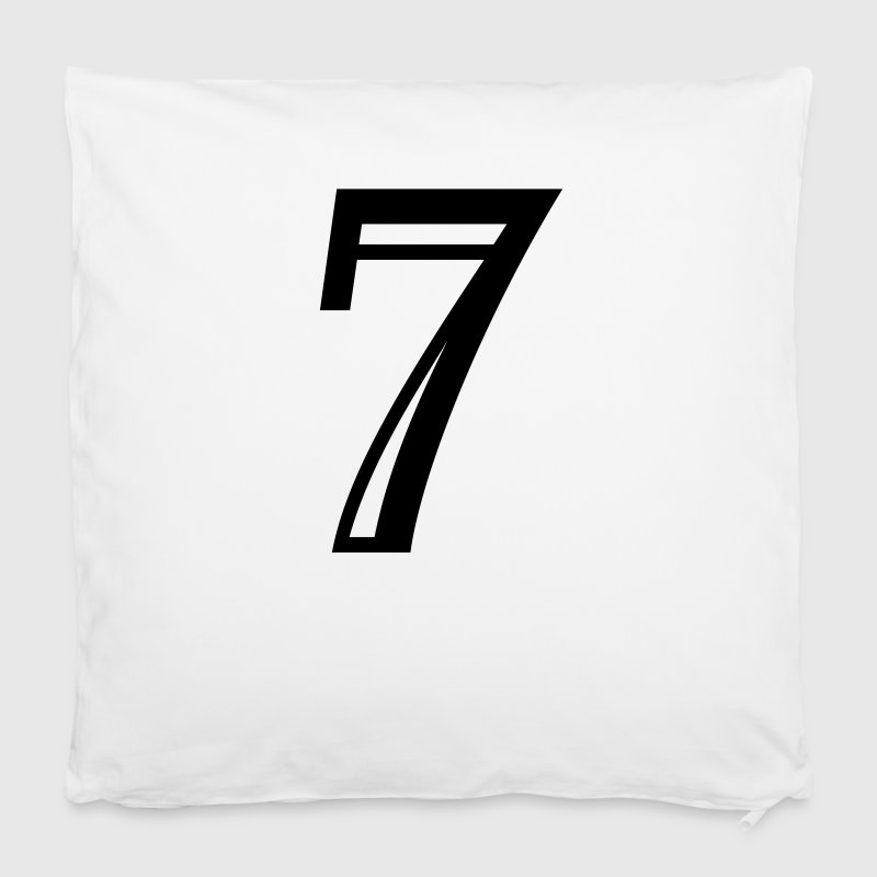 Decorated number 7 Seven Other - Pillowcase 40 x 40 cm