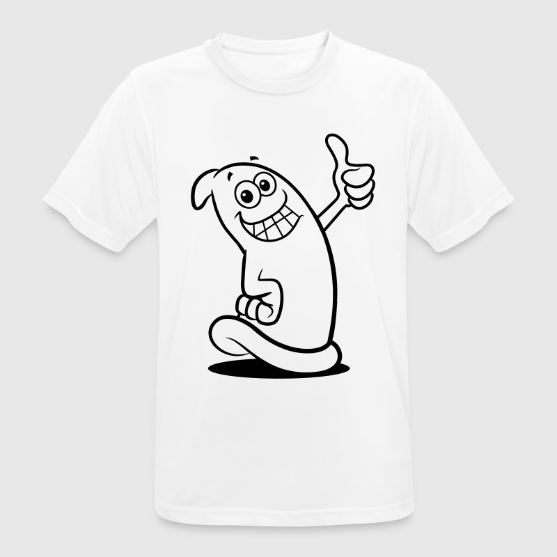 A condom figure T-Shirts - Men's Breathable T-Shirt