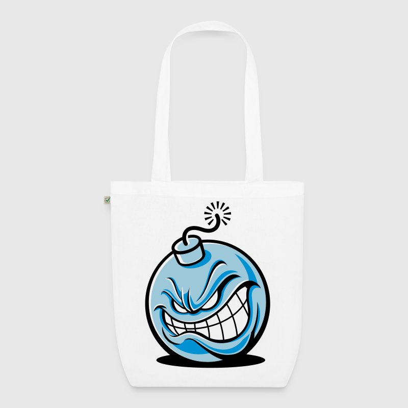 An evil bomb Bags & Backpacks - EarthPositive Tote Bag