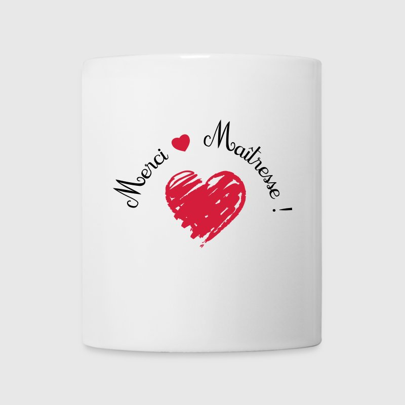 tasse merci ma tresse coeur cadeau de fin d 39 ann e spreadshirt. Black Bedroom Furniture Sets. Home Design Ideas