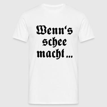 suchbegriff 39 schee 39 t shirts online bestellen spreadshirt. Black Bedroom Furniture Sets. Home Design Ideas