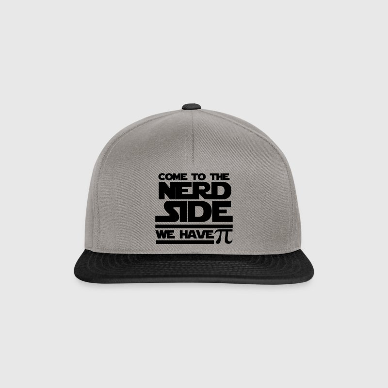 Graphite/black Come to the nerd side Caps & Hats - Snapback Cap