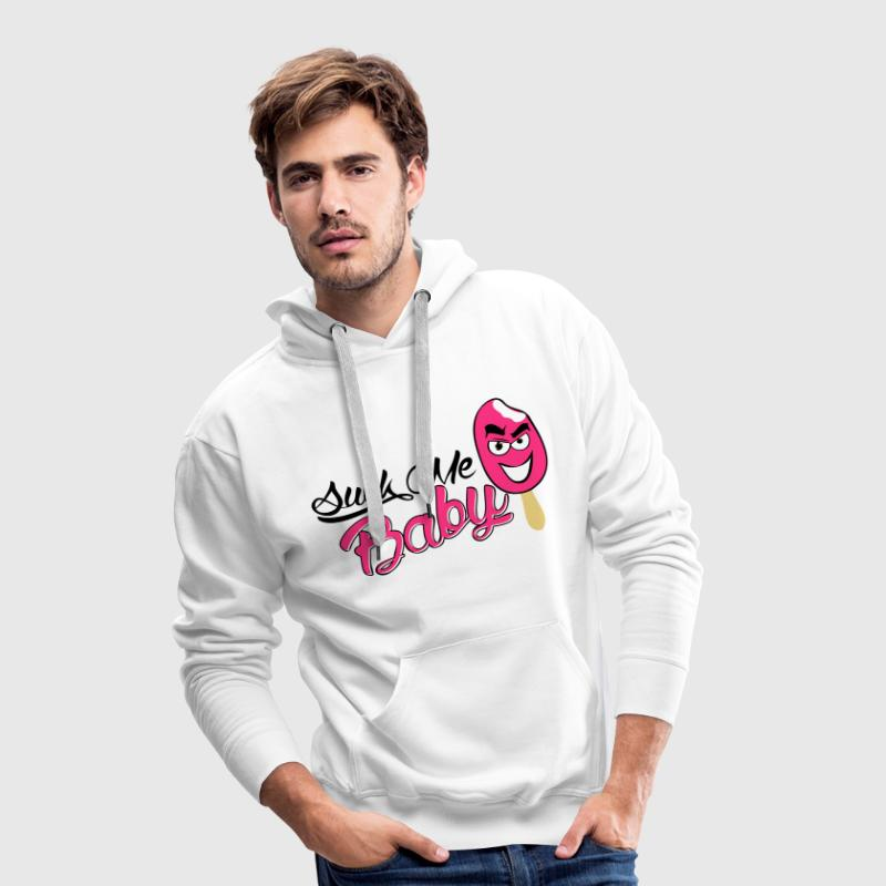 Sweat Suck me Baby - Sweat-shirt à capuche Premium pour hommes