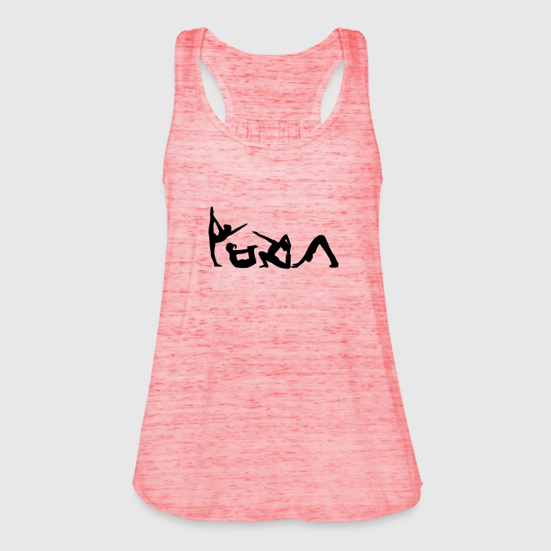 Yoga Figuren Tops - Frauen Tank Top von Bella