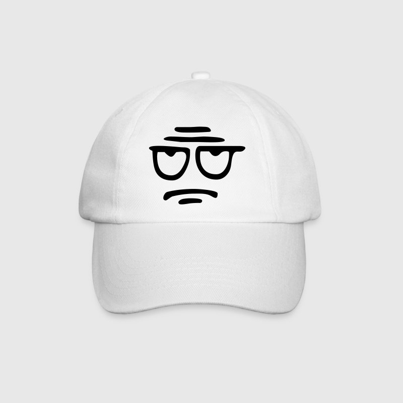 Funny Face, Cartoon Face, Trickfilm, Smiley Caps & Hats - Baseball Cap