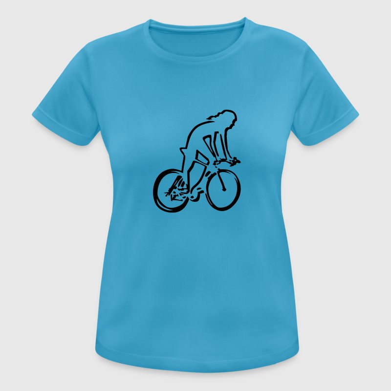 cycling woman T-shirts - vrouwen T-shirt ademend