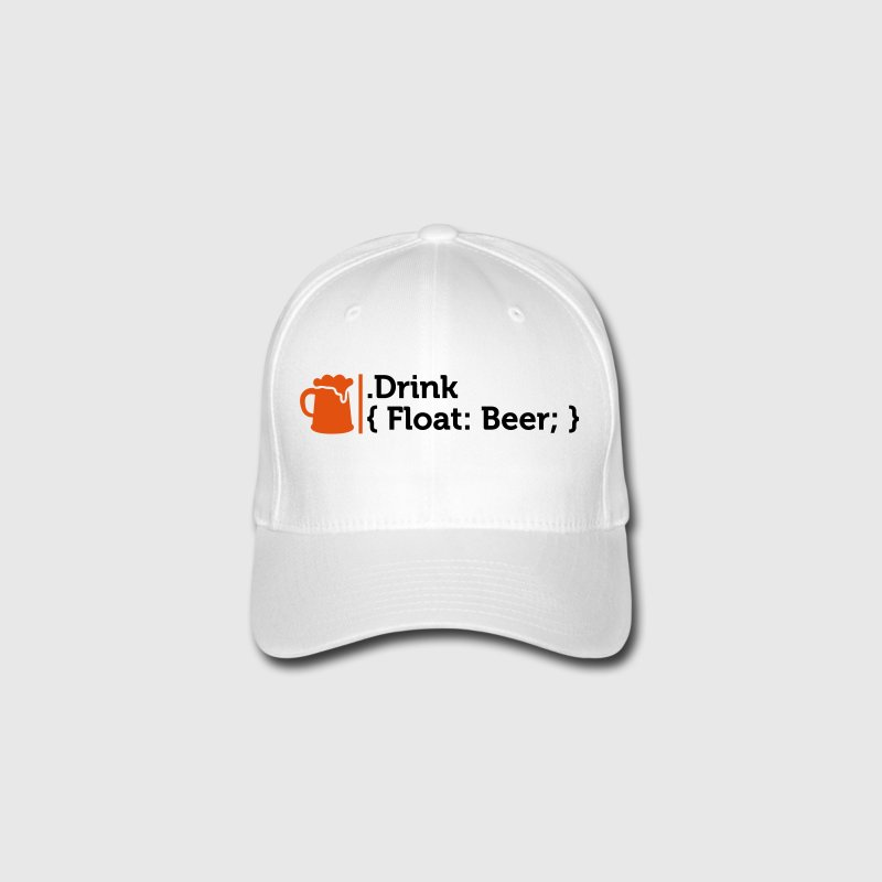 CSS jokes - Drink Beer! Caps & Hats - Flexfit Baseball Cap