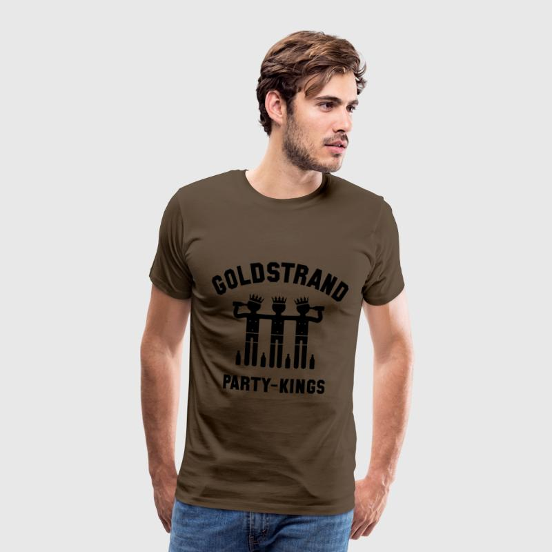 Goldstrand Party-Kings (Partyurlaub) T-Shirts - Männer Premium T-Shirt