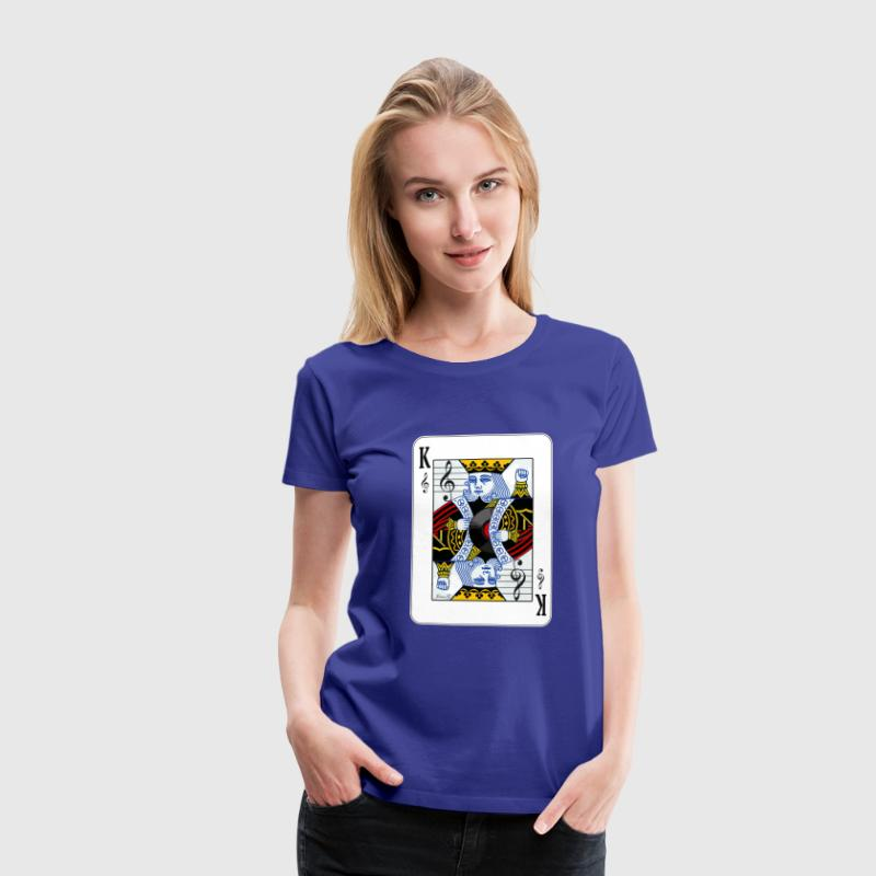 King of Music Tee - Women's Premium T-Shirt
