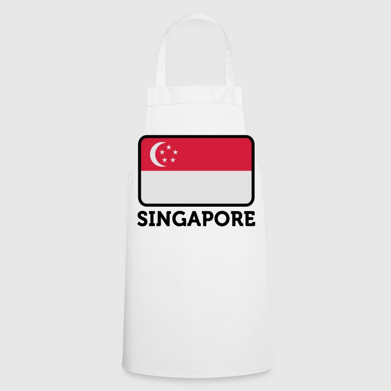 National Flag of Singapore  Aprons - Cooking Apron