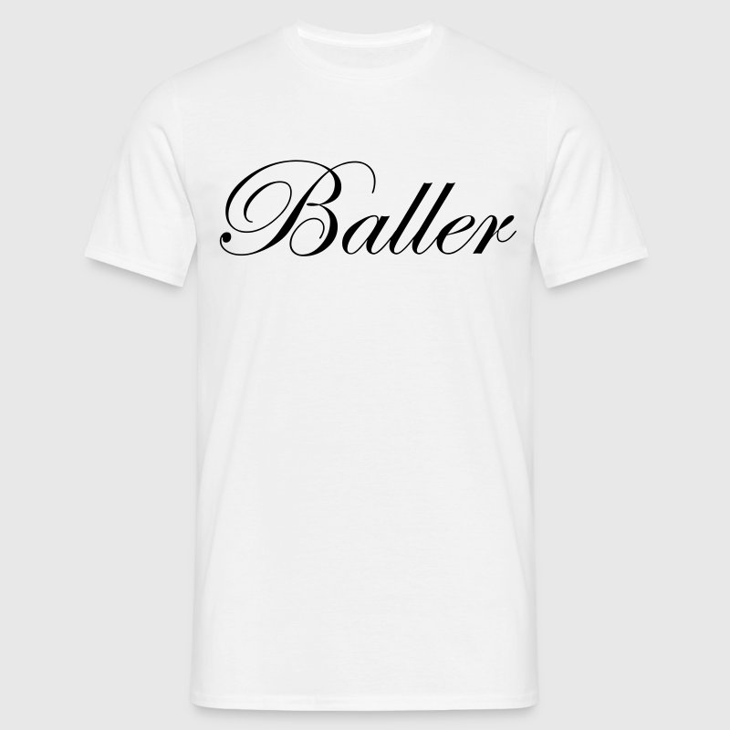 Basketball - Baller Script - Men's T-Shirt