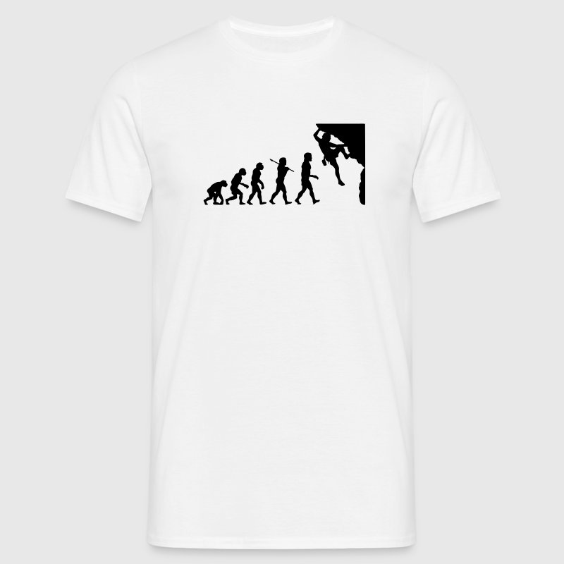 rc01 rock climbing evolution - Men's T-Shirt