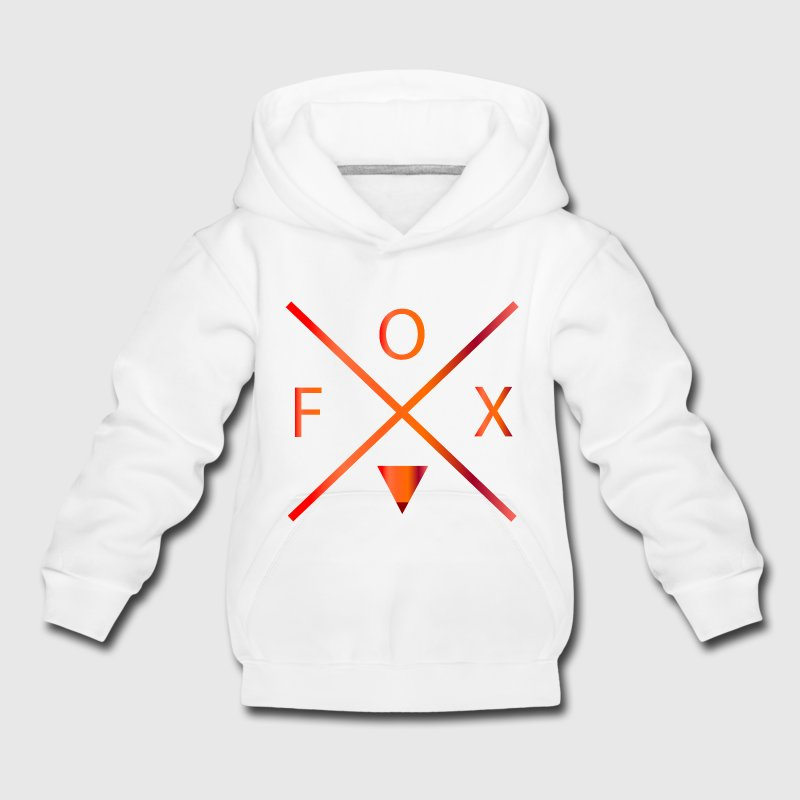 fox Sweats - Pull à capuche Premium Enfant