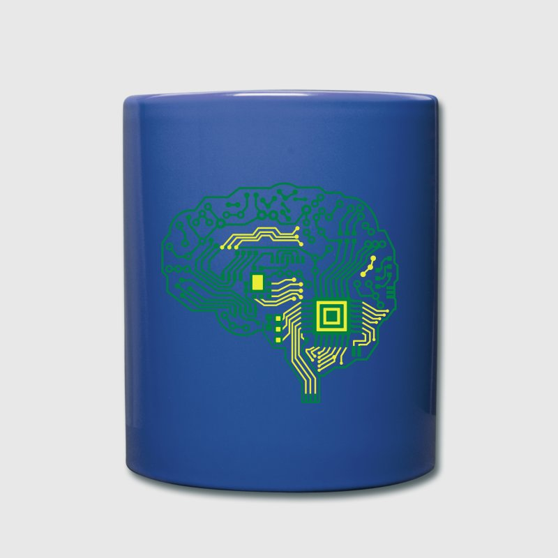 Android brain pcb Mugs & Drinkware - Full Colour Mug