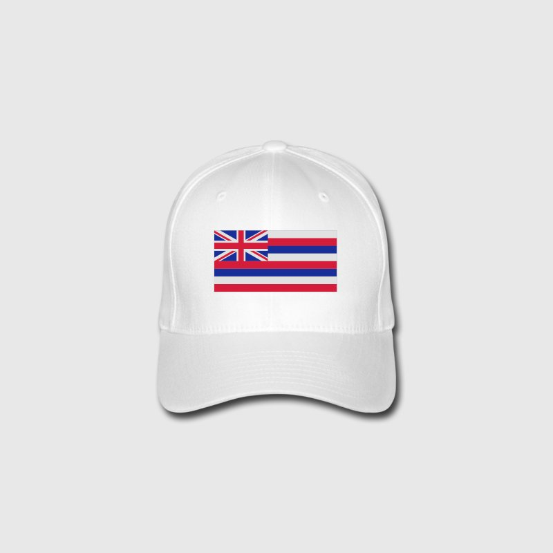 National Flag of Hawaii Caps & Hats - Flexfit Baseball Cap