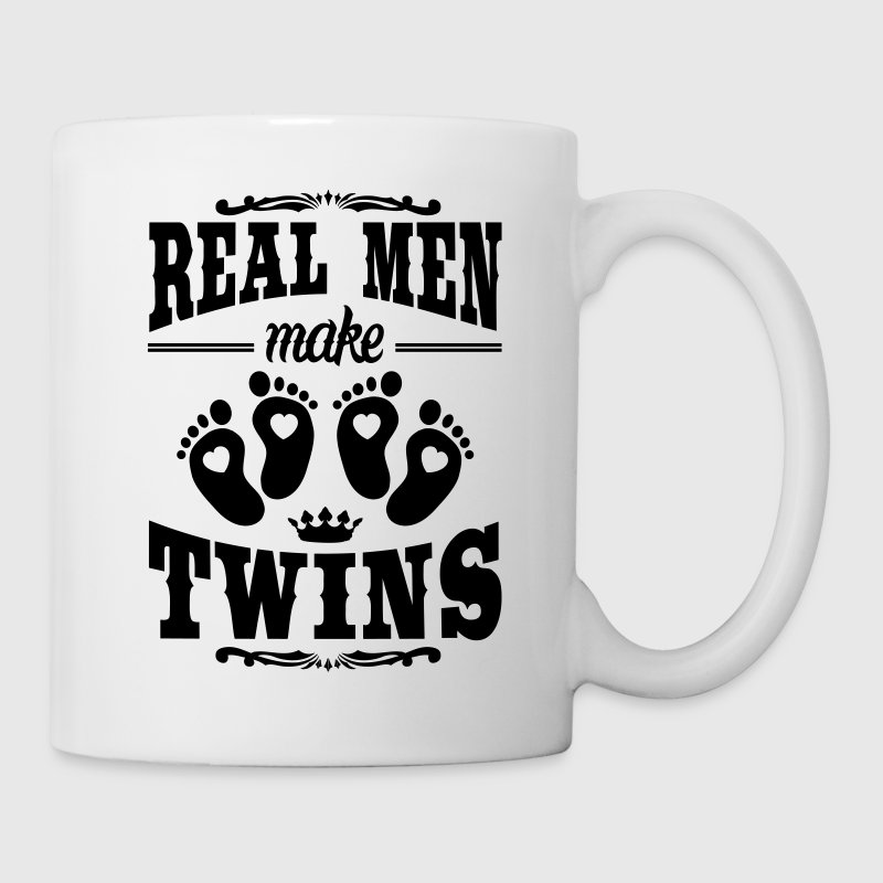 Real Men make Twins Tassen & Zubehör - Tasse