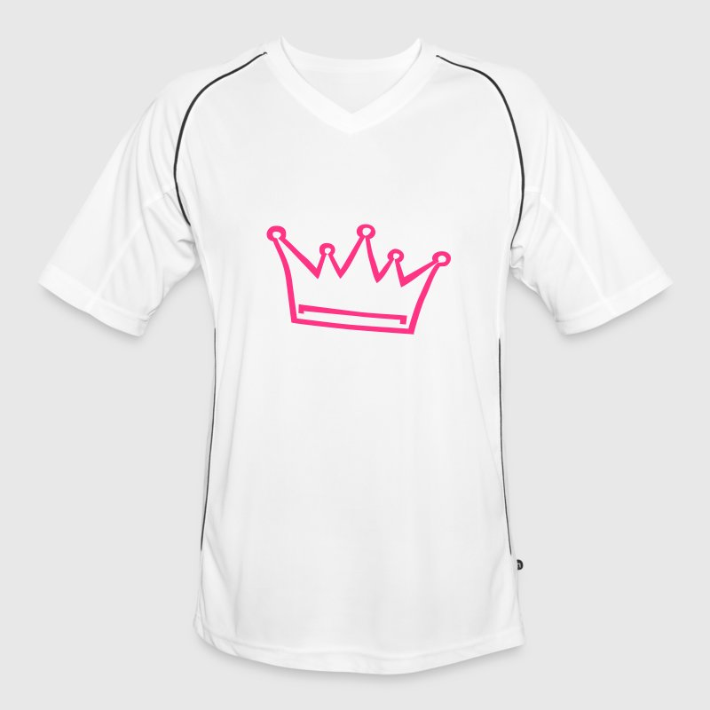 couronne, princesse, prince Tee shirts - Maillot de football Homme