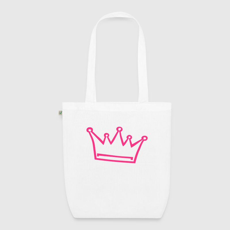 crown, princess, prince Bags & Backpacks - EarthPositive Tote Bag
