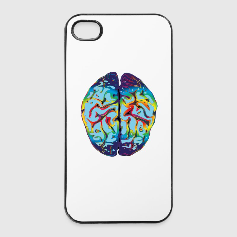 LSD Brain Phone & Tablet Cases - iPhone 4/4s Hard Case