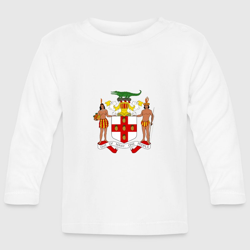 National Coat of Arms of Jamaica Long Sleeve Shirts - Baby Long Sleeve T-Shirt