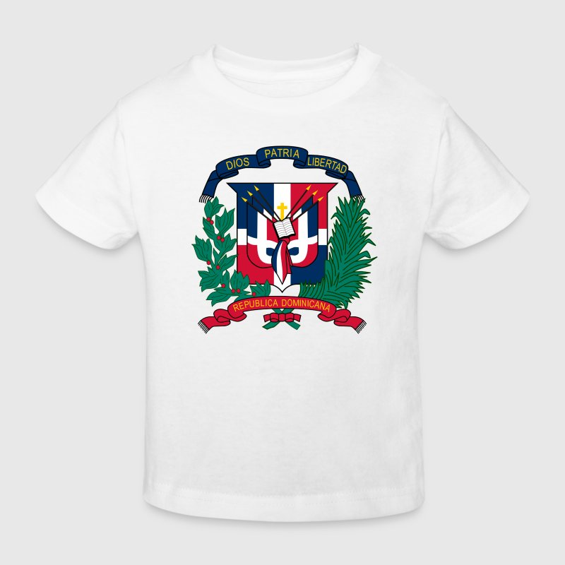 Armoiries nationales de la République dominicaine Tee shirts - T-shirt Bio Enfant