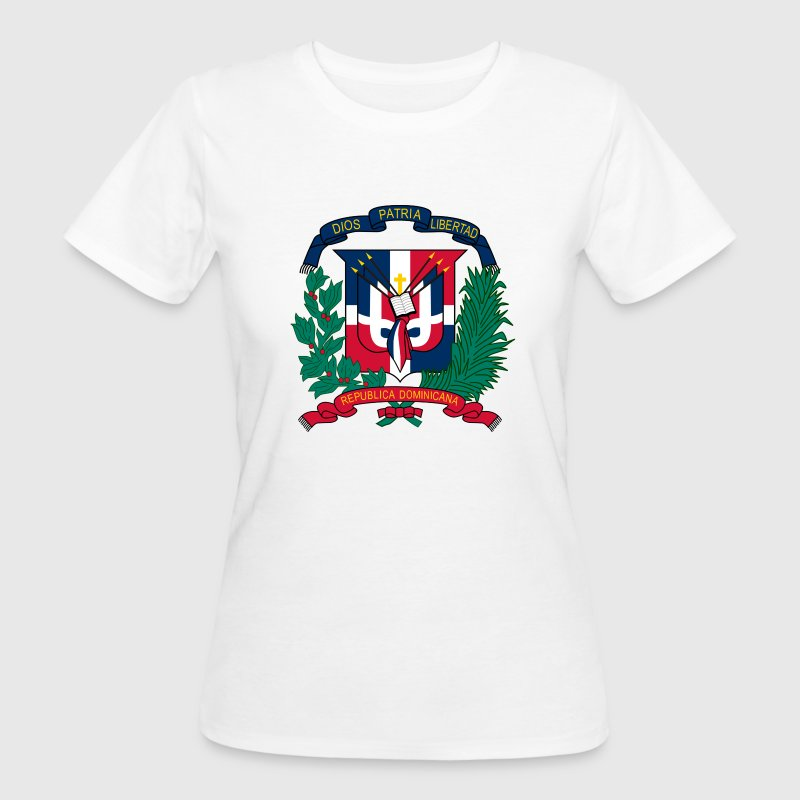 National coat of arms of the Dominican Republic T-Shirts - Women's Organic T-shirt