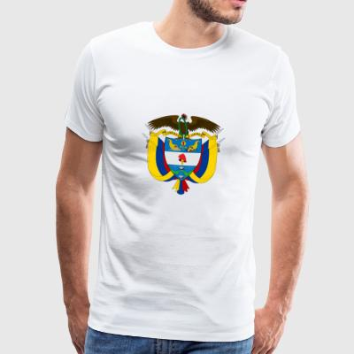 Armoiries nationales de Colombie Vêtements de sport - T-shirt Premium Homme