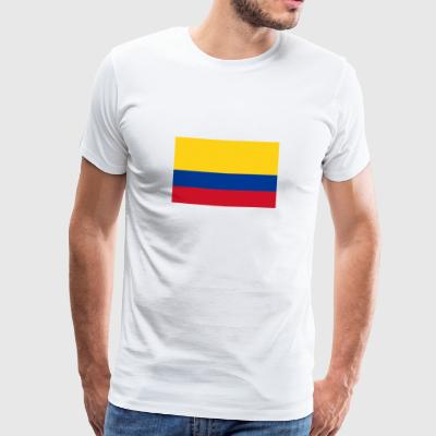 Drapeau national de la Colombie Vêtements de sport - T-shirt Premium Homme