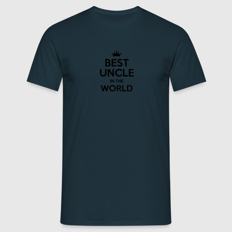 best uncle in the world - Men's T-Shirt