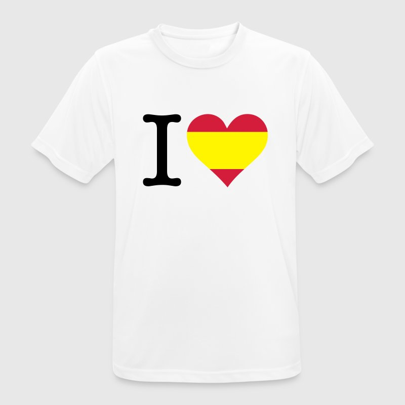 I love Spain T-Shirts - Men's Breathable T-Shirt