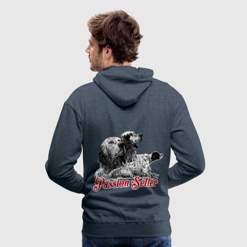 passion setter FRA Sweat-shirts - Sweat-shirt à capuche Premium pour hommes
